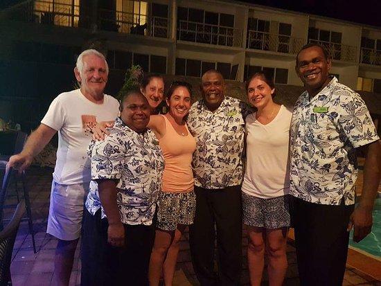 The Melanesian Port Vila: Fantastic Staff