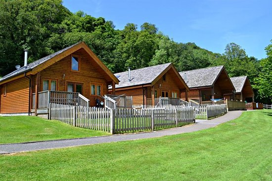 Coombe Mill: 4 of our luxury Holiday Lodges