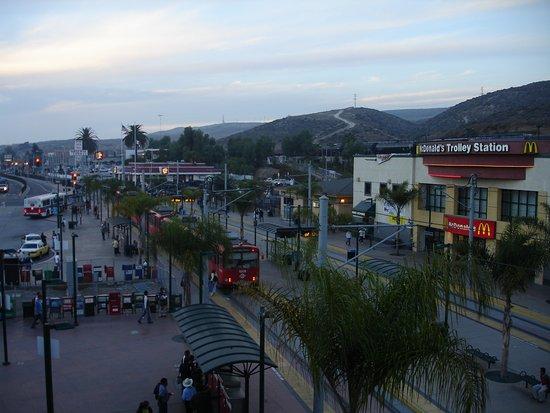 San Ysidro, Kalifornien: メキシコ国境