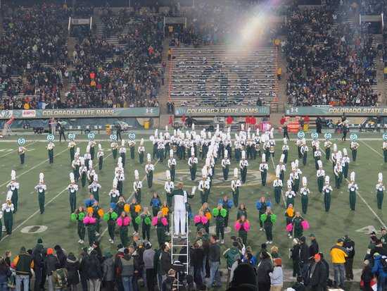Fort Collins, CO: Band & Cheer Leaders