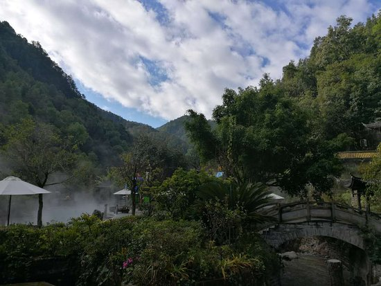 Dagunguo Scenic Resort: hot spring resort