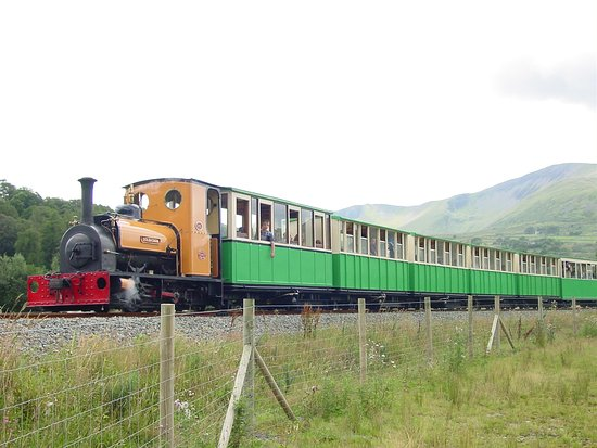 Llanberis, UK: SL列車