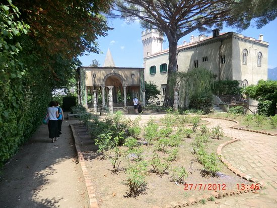 Giardini Di Villa Cimbrone Ravello Picture Of Villa