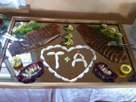 Taby, Sweden: Bröllopsbuffé