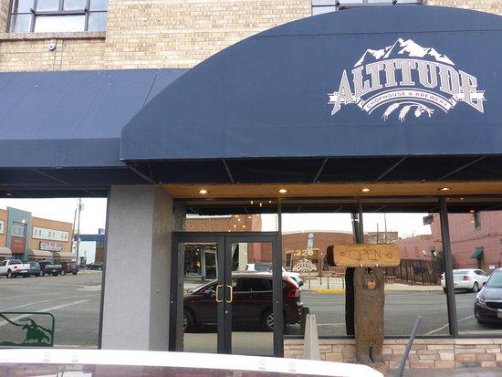 Altitude Chophouse & Brewery Laramie WY