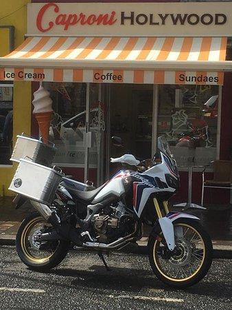 Donaghadee, UK: Caproni Italian Ice Cream @ Holywood