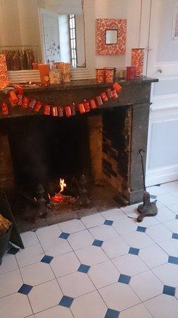 Joigny, France : Salon de thé et table d'hôte dans une maison du XVIIie située dans le quartier historique de Joi