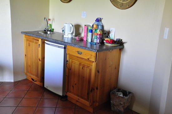 uKhahlamba-Drakensberg Park, Νότια Αφρική: Convenient basin area, with fridge