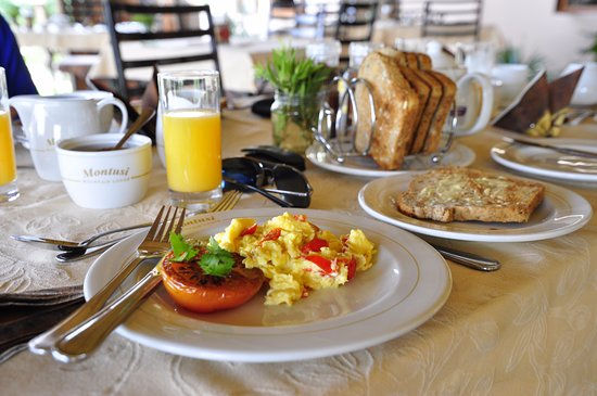 uKhahlamba-Drakensberg Park, South Africa: Deliciously prepared breakfast