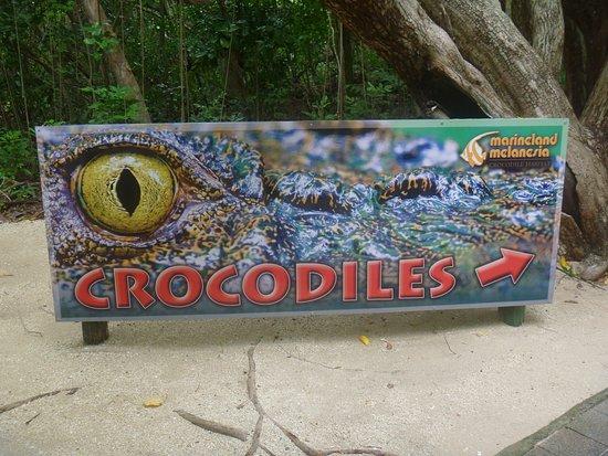 Green Island, Australia: 案内標識