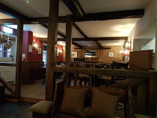 Abberley, UK: Cosy dining area