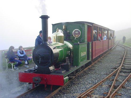 Ντάγκλας, UK: 小さなSL列車