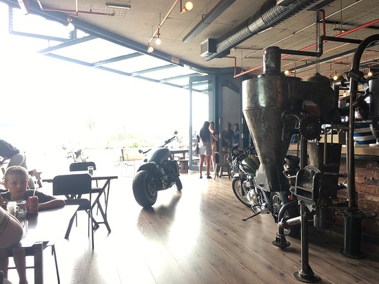 Centurion, South Africa: Industrial Coffee Works