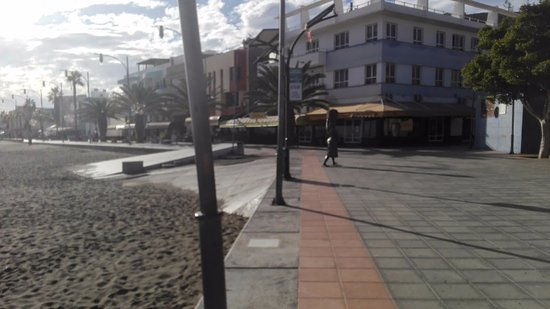 Gran Tarajal, Spanien: Digue