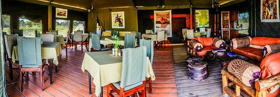 Ang'ata Migration Ndutu Camp: Dining Area at Ang'ata Migration Camp