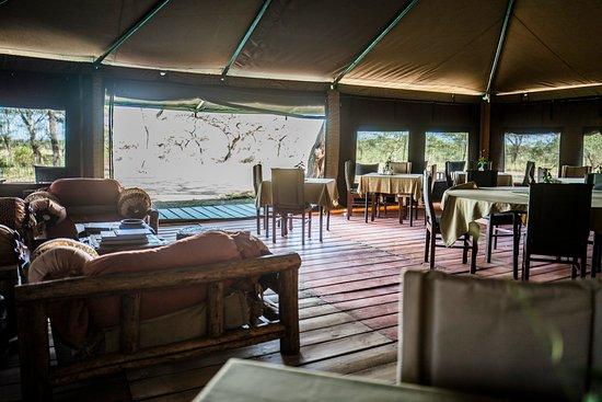 Ang'ata Migration Ndutu Camp: The Main Tent at Ang'ata Migration Camp