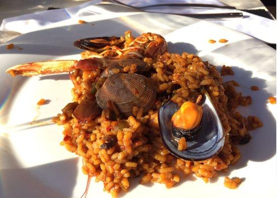 Sant Jordi, España: Paella