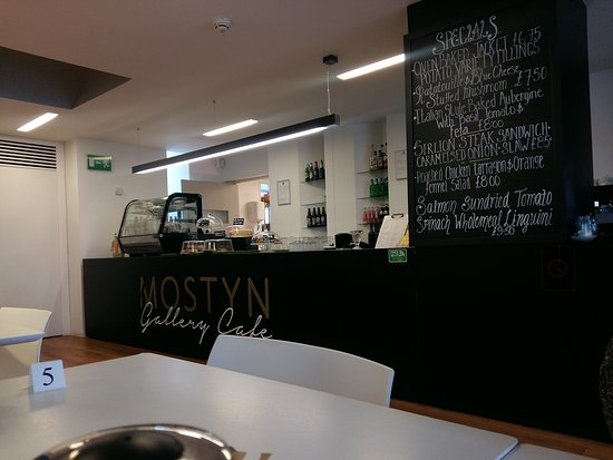 Mostyn Gallery Cafe: Cafe