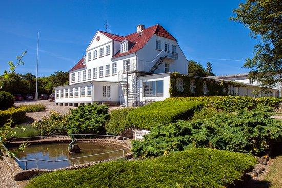 Kalundborg, Danemark : Røsnæs Hotel og Kursuscenter have