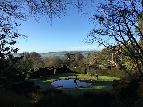 Tiverton, UK: View from the garden