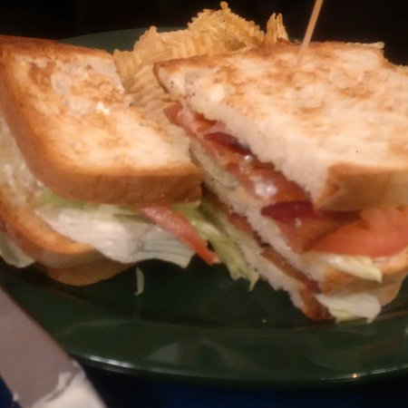 Middleboro, MA: GF BLT Club (bread was delicious!)