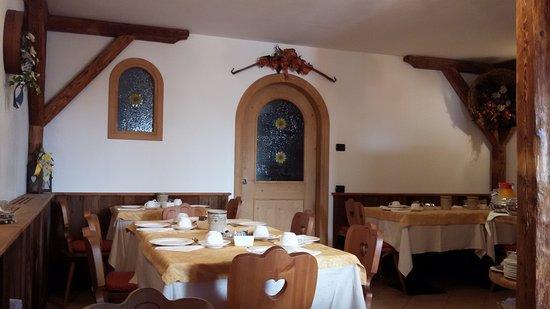 Transacqua, Italien: Sala colazioni