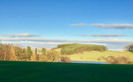 Coniston Cold, UK: The beautiful view from our room