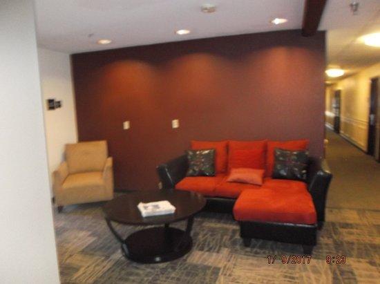 Augusta, GA: lobby sitting area...