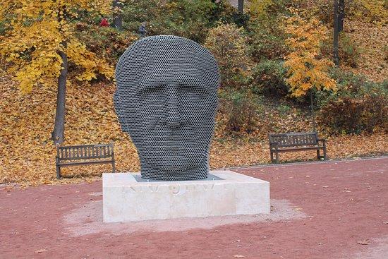 Jan Skacel statue
