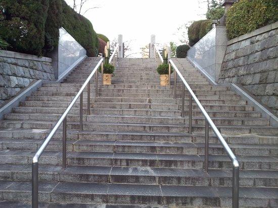 Renge-ji Temple: 蓮華寺 裏門への階段