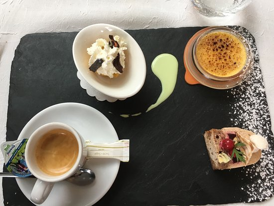 Ferney-Voltaire, Francia: Café gourmand