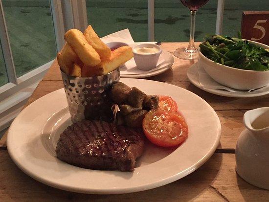 Slough, UK: New menu