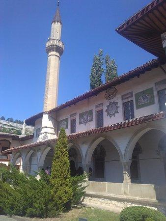 Bakhchisaray: Мечеть на территории дворца