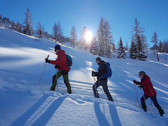 Vitalhotel Tauernhof: Vom Tauernhof organisierte Schneeschuhwanderung