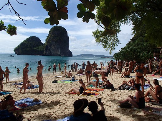 PhraNang Cave Beach - Picture of PhraNang Cave Beach, Ao ...