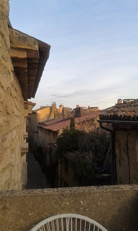 Castillon-du-Gard, Francia: vue de notre chambre