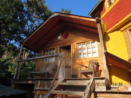 San Marcos La Laguna, Guatemala: One of the upper floor cabanas