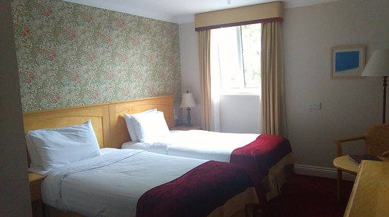 The West Cork Hotel : Nice room, but small