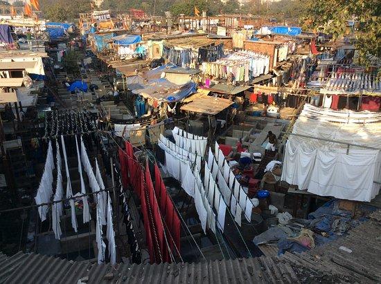 Dhobi Ghat: Доби Гхат, вид с моста