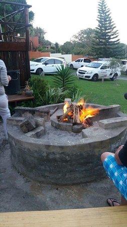 Gonubie, Sudáfrica: Braai/Boma area