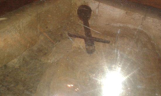 Chiusdino, อิตาลี: spada nella roccia