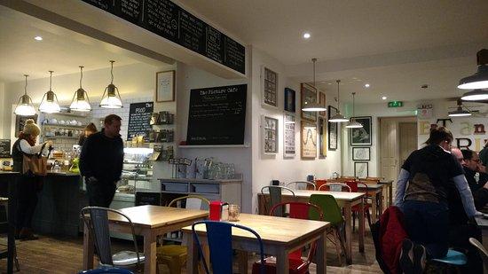 Bingham, UK: Great cafe