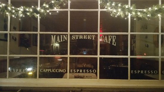 Main Street Cafe : The front