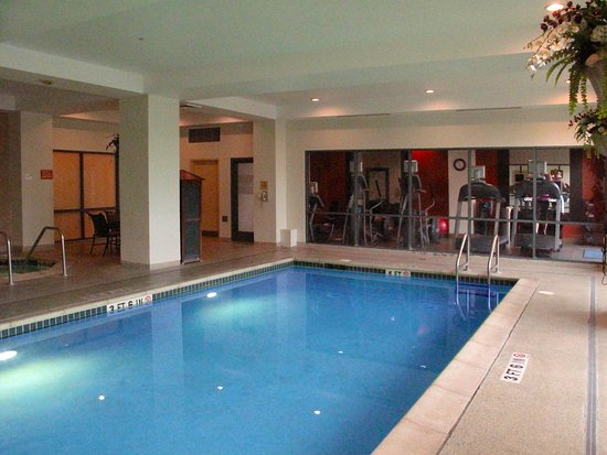 Emby Suites By Hilton Sacramento Riverfront Promenade Pool To Exercise Room