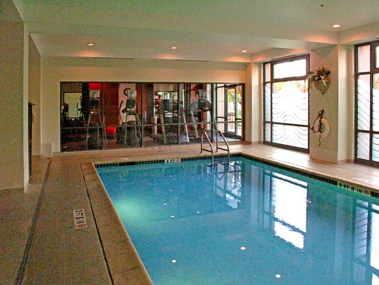 embassy suites pool to exercise room picture of. Black Bedroom Furniture Sets. Home Design Ideas