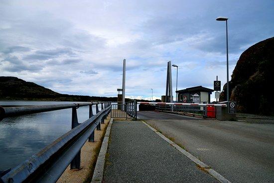 Steinkjer, Norwegia: durante l'attesa al molo