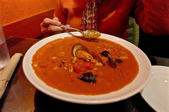 El Cerrito, CA: Parihuela Soup ( tomato / seafood )