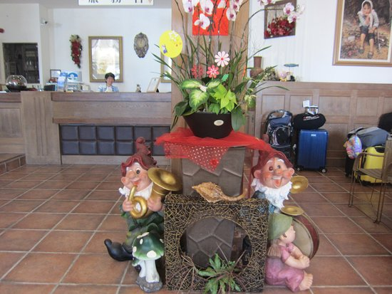 Ming Ging Farm : Reception Area