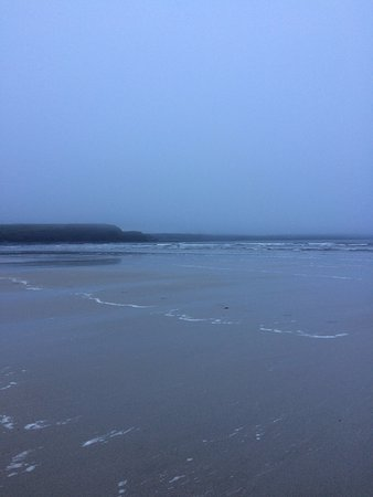 Lahinch, Irland: Beautiful white sand
