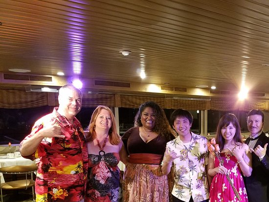 Star of Honolulu - Dinner and Whale Watch Cruises: On Board with musical trio and new friends